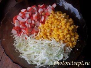 кукурузу добавить