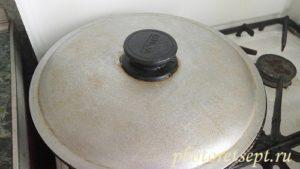 зажарка для супа под крышкой