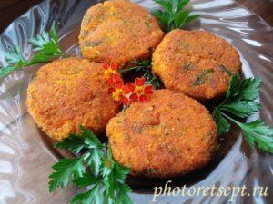 вкусные котлеты из моркови