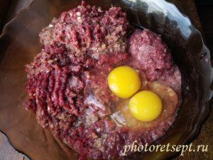 яйца в потроха