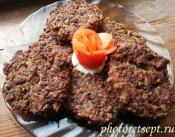 рецепт котлет из куриных сердечек желудков печени
