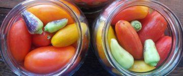томаты с острым перцем рецепт на зиму