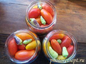 перец острый с томатами