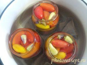 маринуем томаты