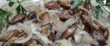 грибочки с луком рецепт