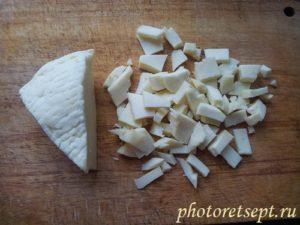 адыгейский сыр нарезать