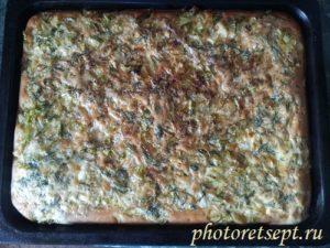 заливной капустный пирог рецепт