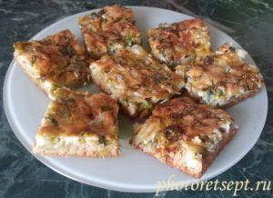 капустный пирог заливной рецепт с фото