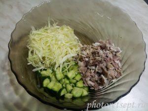 капуста в салат
