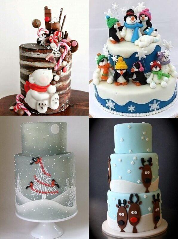 украшение торта 3