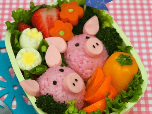 свинки из риса