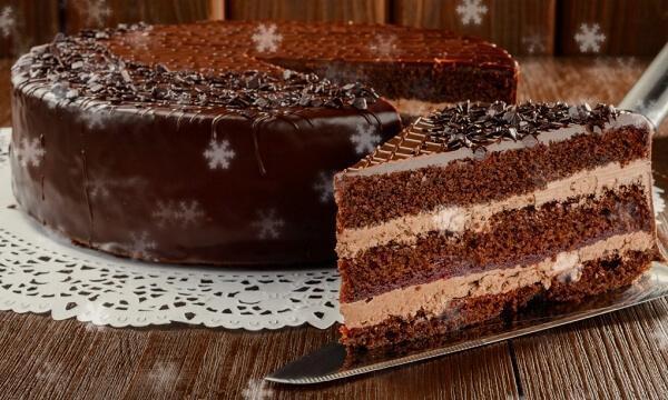 новогодний торт прага