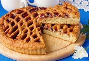 десерт с джемом