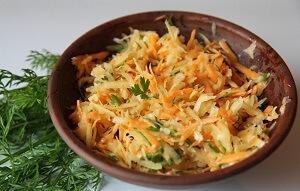 салат с репой и цветной капустой