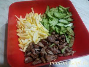 ингредиенты салата с репой