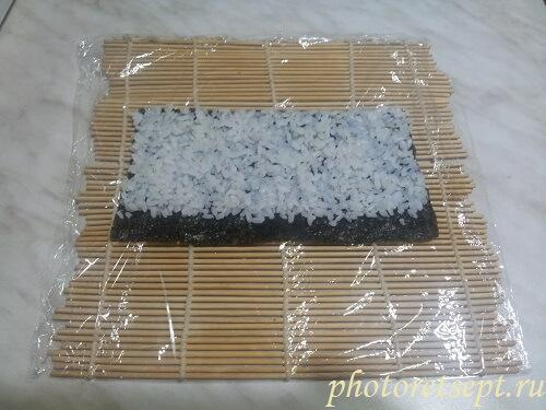 рис на нори