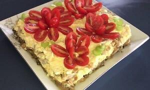 рецепт салата с грудкой