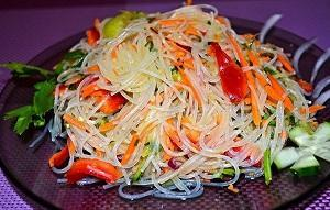 с корейской морковью