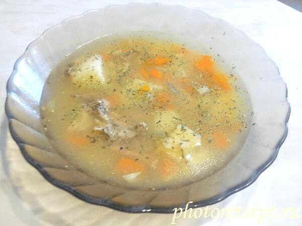 ячменный суп рецепт