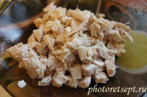 куриное мясо кубиками