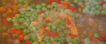 суп с зеленым горохом рецепт