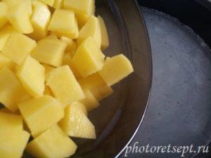картофель в суп