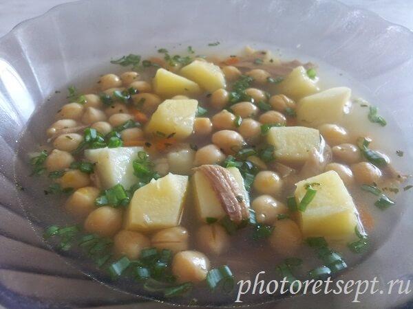 суп с нутом рецепт