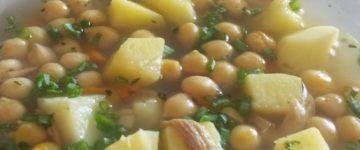 суп из нута рецепт с фото