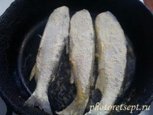 ряпушка рыба жареная