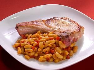 свинина и фасоль классический рецепт