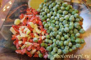 зеленый горошек перец
