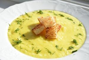 суп сыр кабачок