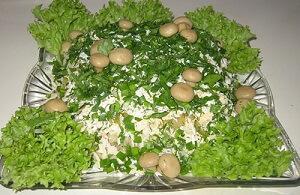 лесная полянка салат