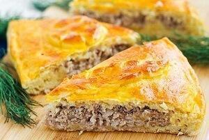 пирог заливной с фаршем рецепт с фото