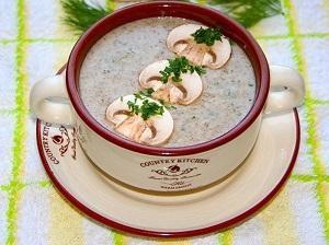 грибы сливки