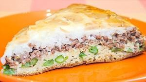 заливной рецепт пирога