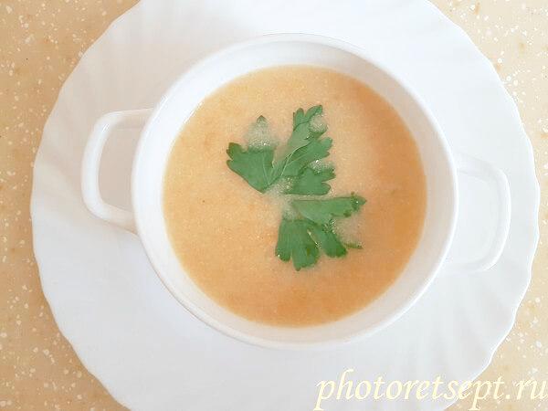 суп из кабачка рецепт