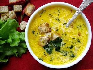 суп пюре с индейкой
