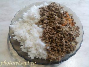 рис и печень