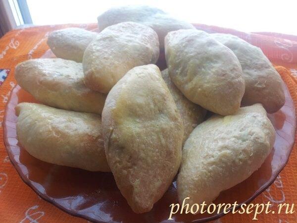 пирожки с печенью и картошкой в духовке