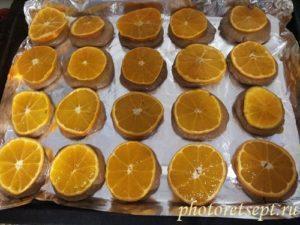 печенье мандарины в духовке