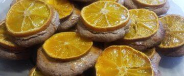 печенье из мандаринов рецепт