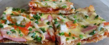 пицца лаваш
