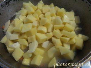 картошка в казан