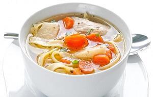 суп с индюшатиной и лапшой