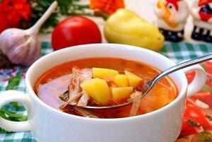 простой суп с индейкой