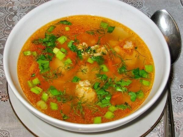 суп из индейки рецепт