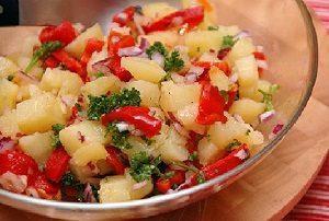простой картофельный салат