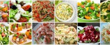 легкие салаты рецепты