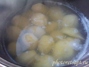 картофель варить